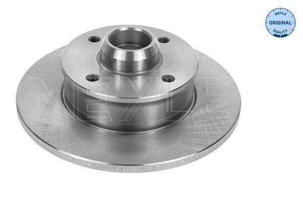 Bremsscheiben 115 523 1005 MEYLE MBD0257 in Original Qualität