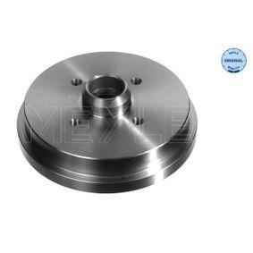 Bremstrommel Br.Tr.Durchmesser außen: 212mm mit OEM-Nummer 191 501 615B