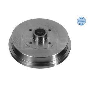 Bremstrommel Br.Tr.Durchmesser außen: 240mm mit OEM-Nummer 1H0501615A
