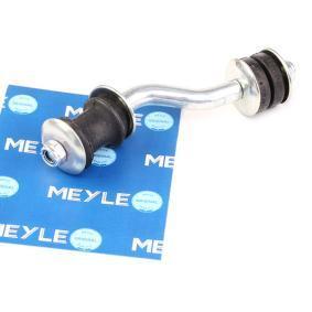 MEYLE Stange/Strebe, Stabilisator 116 060 0013 für AUDI 90 (89, 89Q, 8A, B3) 2.2 E quattro ab Baujahr 04.1987, 136 PS