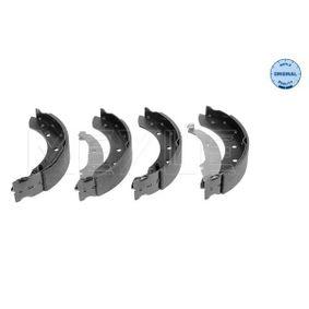 Bremsbackensatz Breite: 39mm mit OEM-Nummer 7701-205-720