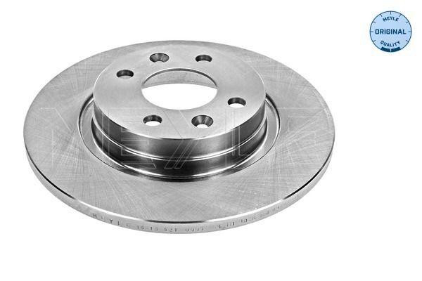 MEYLE  16-15 521 0005 Bremsscheibe Bremsscheibendicke: 12mm, Lochanzahl: 4, Ø: 259mm