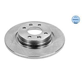 Bremsscheibe Bremsscheibendicke: 12mm, Lochanzahl: 4, Ø: 259mm mit OEM-Nummer 4020 653 45R