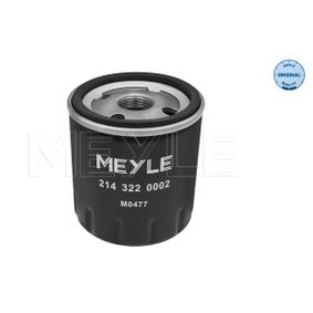 Oil Filter 214 322 0002 C3 Picasso 1.2 THP 110 MY 2016