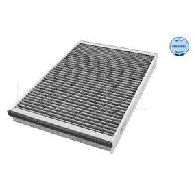 Filter, Innenraumluft Länge: 302mm, Breite: 198mm, Höhe: 30mm mit OEM-Nummer 91 21 627