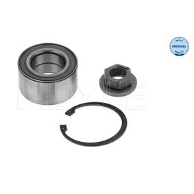 Wheel Bearing Kit Ø: 72mm, Inner Diameter: 39mm with OEM Number 1 112 547