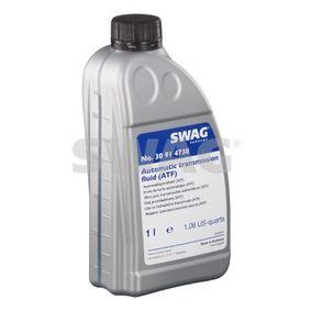 SWAG Getriebeöl 30 91 4738 für AUDI A4 (8E2, B6) 1.9 TDI ab Baujahr 11.2000, 130 PS