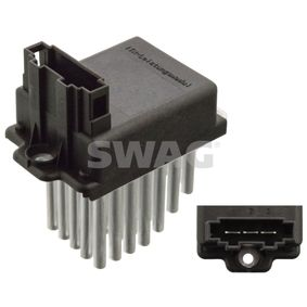 SWAG Steuergerät, Heizung/Lüftung 30 93 0601 für AUDI 80 Avant (8C, B4) 2.0 E 16V ab Baujahr 02.1993, 140 PS