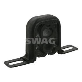 SWAG Haltering, Schalldämpfer 32 92 3656 für AUDI 80 (8C, B4) 2.8 quattro ab Baujahr 09.1991, 174 PS