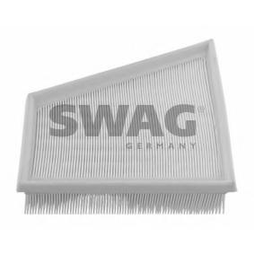 Luftfilter Länge: 218mm, Breite: 213,0mm, Höhe: 58mm mit OEM-Nummer 5Z0129620