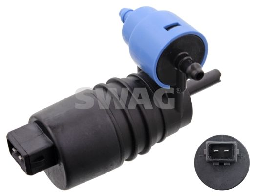 SWAG  40 91 0275 Water Pump, window cleaning Voltage: 12V, Number of connectors: 2