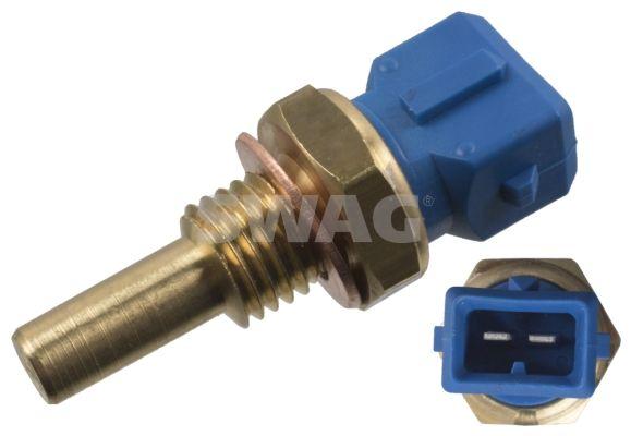 SWAG  40 91 7695 Sensore, Temperatura refrigerante N° raccordi: 2, Apert. chiave: 19
