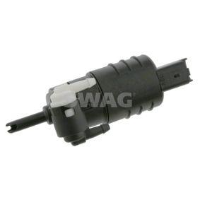 SWAG  60 92 4341 Waschwasserpumpe, Scheibenreinigung Spannung: 12V, Anschlussanzahl: 2