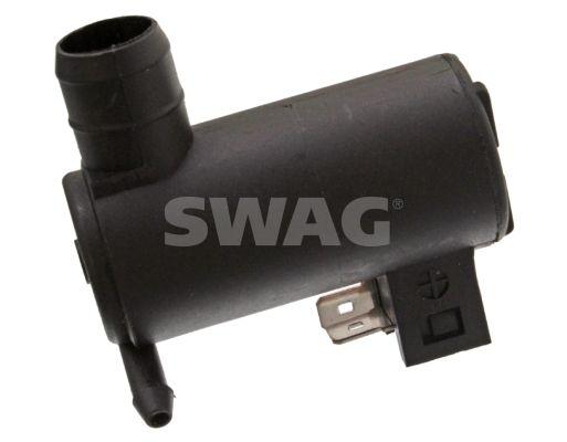 SWAG  62 92 6651 Waschwasserpumpe, Scheibenreinigung Spannung: 12V, Anschlussanzahl: 2