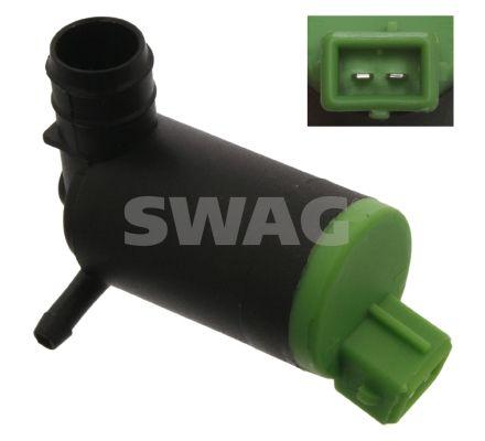 SWAG  70 91 4359 Waschwasserpumpe, Scheibenreinigung Spannung: 12V, Anschlussanzahl: 2