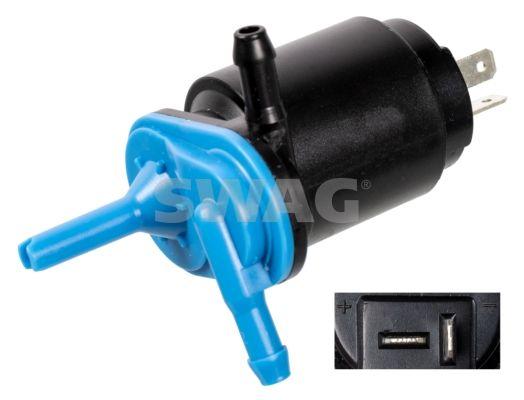 SWAG  70 91 4368 Waschwasserpumpe, Scheibenreinigung Spannung: 12V, Anschlussanzahl: 2