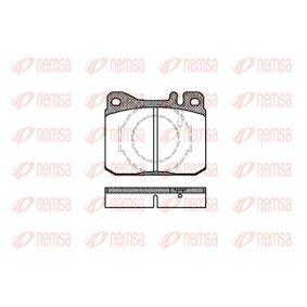 Bremsbelagsatz, Scheibenbremse Höhe: 73,8mm, Dicke/Stärke: 17,5mm mit OEM-Nummer A001 420 75 20
