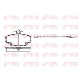 Bremsbelagsatz, Scheibenbremse Höhe: 64,8mm, Dicke/Stärke: 18mm mit OEM-Nummer 7701201774