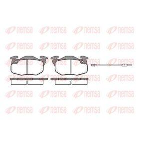 Bremsbelagsatz, Scheibenbremse Höhe: 54,3mm, Dicke/Stärke: 18mm mit OEM-Nummer 4248 62