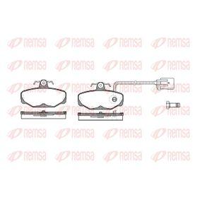 Bremsbelagsatz, Scheibenbremse Höhe: 54mm, Dicke/Stärke: 13,5mm mit OEM-Nummer 1 111 287