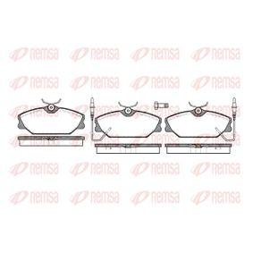 Bremsbelagsatz, Scheibenbremse Höhe: 55,6mm, Dicke/Stärke: 18,5mm mit OEM-Nummer 7701 203 070