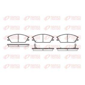 Bremsbelagsatz, Scheibenbremse Höhe: 49mm, Dicke/Stärke: 14,8mm mit OEM-Nummer 58101-24B00