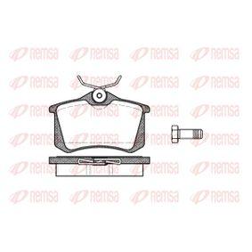 Bremsbelagsatz, Scheibenbremse Höhe: 52,9mm, Dicke/Stärke: 17mm mit OEM-Nummer 1H0615415