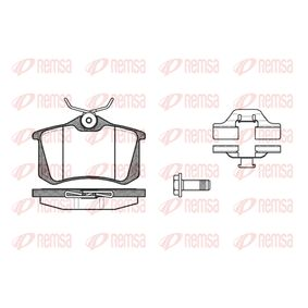 Bremsbelagsatz, Scheibenbremse Höhe: 52,9mm, Dicke/Stärke: 16mm mit OEM-Nummer 1J0698451R