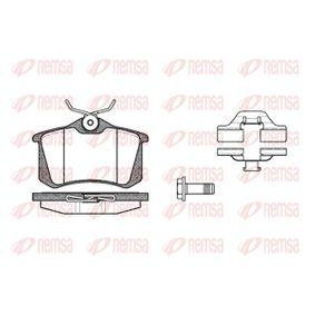 Bremsbelagsatz, Scheibenbremse Höhe: 52,9mm, Dicke/Stärke: 16mm mit OEM-Nummer 602 537 165 0