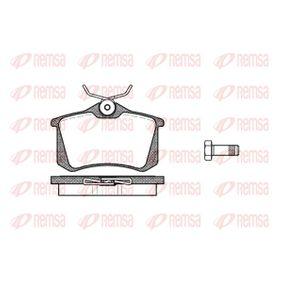 Brake Pad Set, disc brake 0263.10 MEGANE 2 (BM0/1, CM0/1) 2.0 16V MY 2002