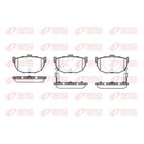 Bremsbelagsatz, Scheibenbremse Höhe: 46,5mm, Dicke/Stärke: 14,6mm mit OEM-Nummer 5820228A00