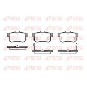 Brake Pad Set, disc brake 0325.22 CIVIC 7 Hatchback (EU, EP, EV) 2.0 Type-R MY 2002