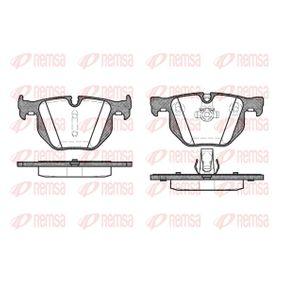 Brake Pad Set, disc brake 0381.60 3 Saloon (E90) 330d 3.0 MY 2011