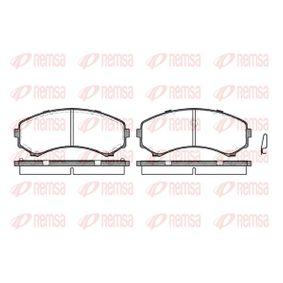 Brake Pad Set, disc brake Article № 0396.00 £ 150,00