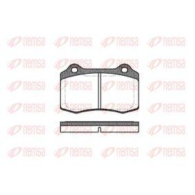 Bremsbelagsatz, Scheibenbremse Höhe: 69,3mm, Dicke/Stärke: 14,8mm mit OEM-Nummer 3068385-8