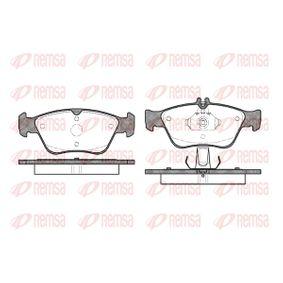 Bremsbelagsatz, Scheibenbremse Höhe 1: 66,3mm, Höhe 2: 60mm, Dicke/Stärke: 19,5mm mit OEM-Nummer A002 420 4420