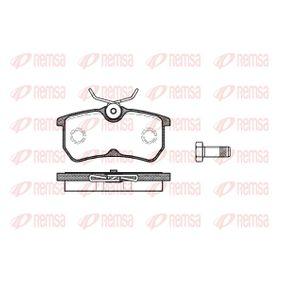 Bremsbelagsatz, Scheibenbremse Höhe: 42,5mm, Dicke/Stärke: 14,5mm mit OEM-Nummer 98AX 2M008 BA