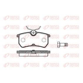 Brake Pad Set, disc brake Height: 42,5mm, Thickness: 14,5mm with OEM Number 5382847