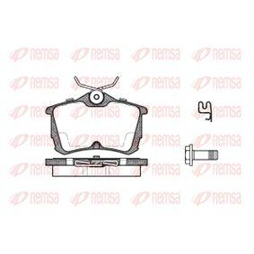 2008 Honda Accord CL7 3.0 Brake Pad Set, disc brake 0695.02