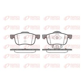 Brake Pad Set, disc brake Height 1: 69mm, Height 2: 72,5mm, Thickness: 18,5mm with OEM Number 272 401