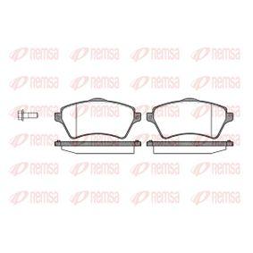 Bremsbelagsatz, Scheibenbremse Höhe: 62,2mm, Dicke/Stärke: 18,2mm mit OEM-Nummer 23615