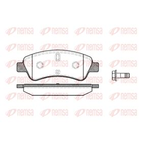 Brake Pad Set, disc brake Height: 51mm, Thickness: 18,8mm with OEM Number 4253-41