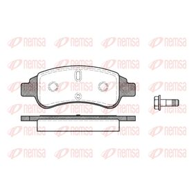 Brake Pad Set, disc brake Height: 50,8mm, Thickness: 18,8mm with OEM Number 4252.40