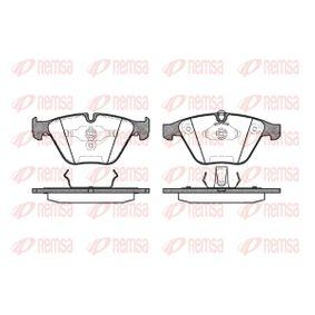 Brake Pad Set, disc brake 0857.00 3 Saloon (E90) 330d 3.0 MY 2009