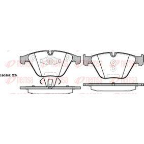 Bremsbelagsatz, Scheibenbremse Höhe: 68,5mm, Dicke/Stärke: 19,8mm mit OEM-Nummer 34112288858