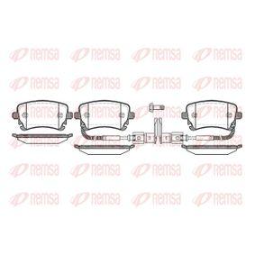 Bremsbelagsatz, Scheibenbremse Höhe: 59mm, Dicke/Stärke: 17,5mm mit OEM-Nummer 3D0698451
