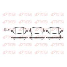 Bremsbelagsatz, Scheibenbremse Höhe: 42,7mm, Dicke/Stärke: 15mm mit OEM-Nummer 93176118