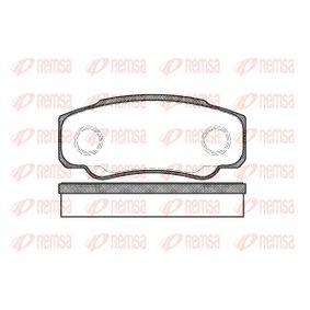 Bremsbelagsatz, Scheibenbremse Höhe: 50mm, Dicke/Stärke: 20mm mit OEM-Nummer 4254 68