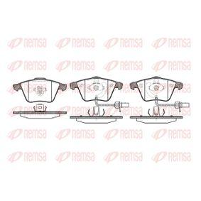 Bremsbelagsatz, Scheibenbremse Höhe: 72,9mm, Dicke/Stärke: 20mm mit OEM-Nummer 8E0 698 151 L