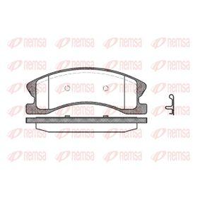 Bremsbelagsatz, Scheibenbremse Höhe: 60,5mm, Dicke/Stärke: 19,3mm mit OEM-Nummer 4252-77